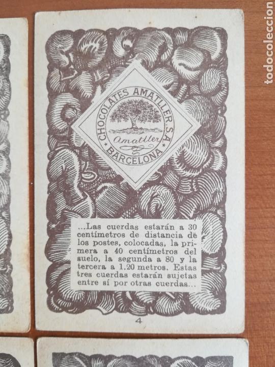 Barajas de cartas: Baraja española Chocolates Amatller Colección de monedas boxeo - palo de oros - Foto 15 - 109476699