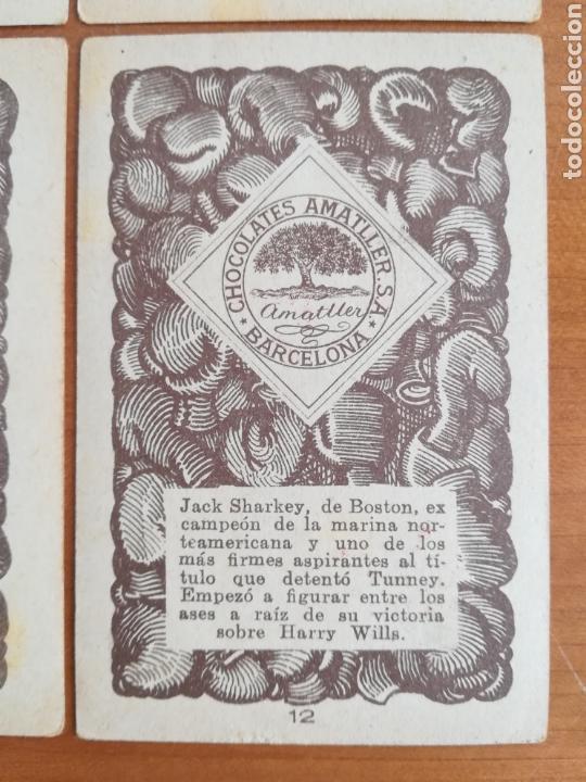 Barajas de cartas: Baraja española Chocolates Amatller Colección de monedas boxeo - palo de oros - Foto 19 - 109476699