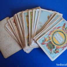 Barajas de cartas - (CHO-405B)BARAJA PUBLICIDAD PAPEL FUMAR DE ALQUITRÁN NORUEGO JOSÉ BARDOU.S.XIX. - 109535659