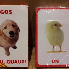 Barajas de cartas: BARAJA VARITEMAS / APRÈN A COMPTAR ANIMALS I OFICIS / COMPLETA Y PRECINTADA. / CAJA ORIGINAL.. Lote 125265743