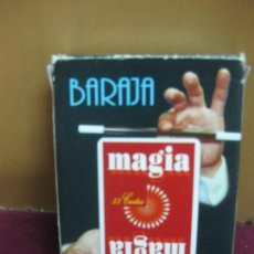 Barajas de cartas: BARAJA DE MAGIA. NAIPES FOURNIER.. Lote 109760807