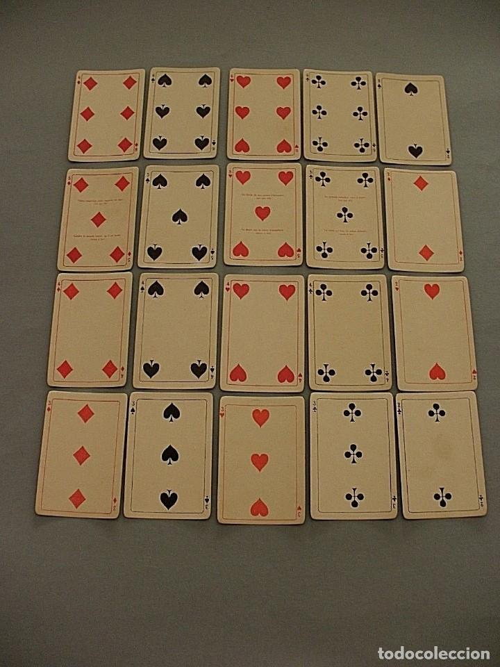 Barajas de cartas: RARISIMA BARAJA JEU DES ALLIES PROVERBES I GUERRA MUNDIAL BIERMANS CARDS BELGICA 1919 - Foto 4 - 110195655