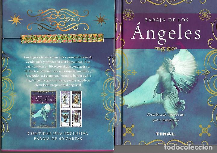 MUY RARA BARAJA EXCLUSIVA DE TAROT DE LOS ANGELES BARAJA 40 CARTAS LIBRO Y CAJA (Juguetes y Juegos - Cartas y Naipes - Barajas Tarot)