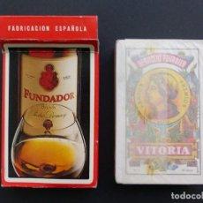 Barajas de cartas: BARAJA CARTAS - NAIPE ESPAÑOL HERACLIO FOURNIER - BRANDY FUNDADOR, 50 CARTAS - SIN ABRIR. Lote 110197431