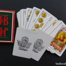 Barajas de cartas: BARAJA CARTAS - NAIPE ESPAÑOL HERACLIO FOURNIER - WHISKY JB, 50 CARTAS. Lote 110197703