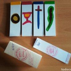 Barajas de cartas: BARAJA ESPAÑOLA PINCELLADA JOSEP SORIANO FIRMADA Y NUMERADA 2/25 - IGUALADA ARTESANIA DEL NAIP. Lote 110213766