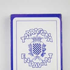 Barajas de cartas: BARAJA DE CARTAS - TARRAGONA ENDEVANT, SEGUICI POPULAR - EDITOR, NOU DIARI. Lote 254744175