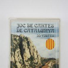 Barajas de cartas: BARAJA DE CARTAS FRANCESA / PÓKER - JOC DE CARTES DE CATALUNYA / 55 VISTES. Lote 110343586