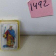 Barajas de cartas: BARAJA DE CARTAS FOURNIER BARAJA LILIPUT PEQUEÑA. Lote 110376447