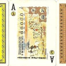 Barajas de cartas: BARAJA, TEMA LA TAUROMAQUIA, 1971, LOTERIA NACIONAL-FOURNIER, SIN PRECINTAR, VER DESCRIPCIÓN. Lote 110386547