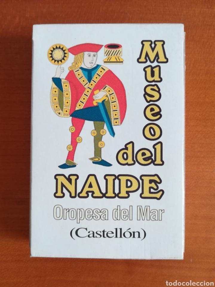 BARAJA ESPAÑOLA FOURNIER MUSEO DEL NAIPE OROPESA DEL MAR CASTELLÓN - EDICIÓN LIMITADA Y NUMERADA (Juguetes y Juegos - Cartas y Naipes - Baraja Española)