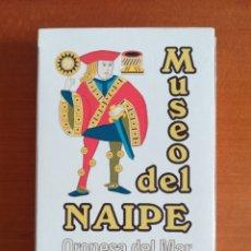 Barajas de cartas: BARAJA ESPAÑOLA FOURNIER MUSEO DEL NAIPE OROPESA DEL MAR CASTELLÓN - EDICIÓN LIMITADA Y NUMERADA. Lote 110467328