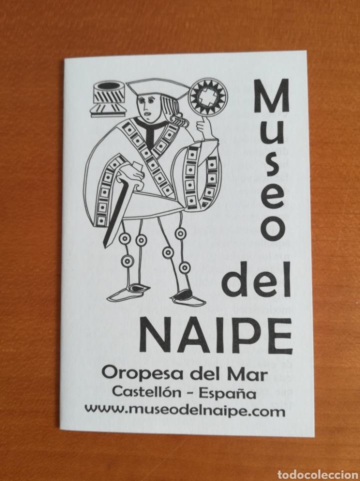 Barajas de cartas: Baraja española Fournier Museo del Naipe Oropesa del Mar Castellón - Edición limitada y numerada - Foto 25 - 110467328