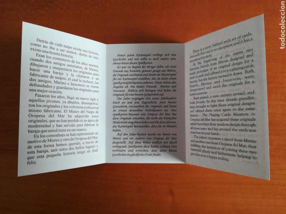 Barajas de cartas: Baraja española Fournier Museo del Naipe Oropesa del Mar Castellón - Edición limitada y numerada - Foto 26 - 110467328