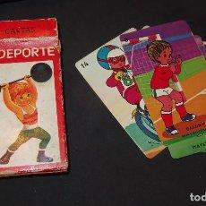 Barajas de cartas: BARAJA YO DEPORTE,A.SALDAÑA ORTEGA,COMPLETA. Lote 110503843