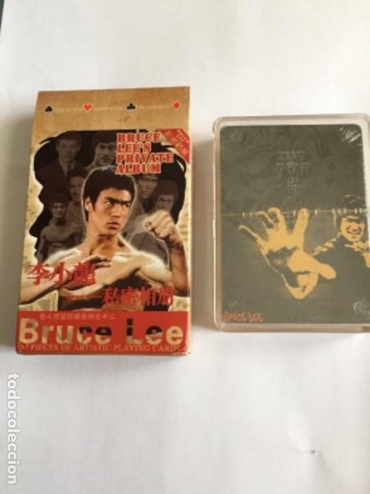 BARAJA BRUCE LEE NUEVA CADA CARTA UNA FOTO (Juguetes y Juegos - Cartas y Naipes - Barajas de Póker)