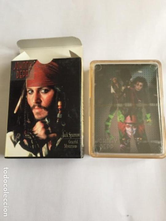 BARAJA JOHNNY DEPP NUEVA CADA CARTA UNA FOTO (Juguetes y Juegos - Cartas y Naipes - Barajas de Póker)