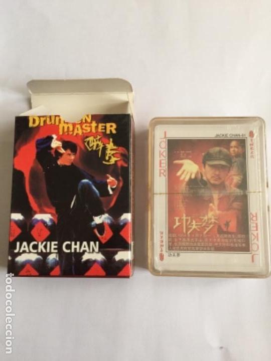 BARAJA JACKIE CHAN NUEVA CADA CARTA UNA FOTO NAIPES (Juguetes y Juegos - Cartas y Naipes - Barajas de Póker)