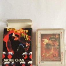 Barajas de cartas: BARAJA JACKIE CHAN NUEVA CADA CARTA UNA FOTO NAIPES. Lote 110546719