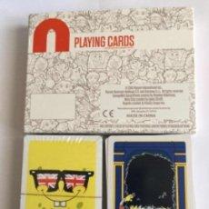 Barajas de cartas: DOBLE BARAJA 2 DE BOB ESPONJA LONDON NUEVAS . Lote 110548491
