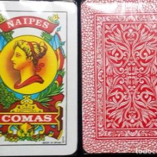 Barajas de cartas: BARAJA ESPAÑOLA 40 CARTAS DE NAIPES COMAS-PRECINTADA A ESTRENAR. Lote 130049099