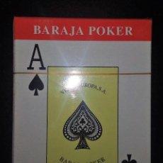 Barajas de cartas: BARAJA POKER VIDAL EUROPA- 55 NAIPES OPACO MARFIL- A ESTRENAR SIN DESPRECINTAR. Lote 161909570
