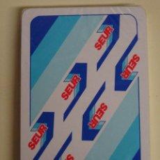 Barajas de cartas: BARAJA DE CARTAS ESPAÑOLA. FOURNIER. MENSAJERÍA SEUR. PRECINTADA. 80 GR. Lote 110647371