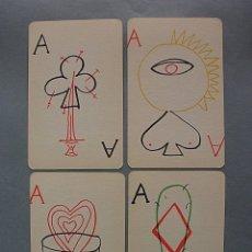 Barajas de cartas: JUEGO DE CARTAS MAX AUB MEXICO 1964 BARAJA NAIPES DIBUJOS JUSEP TORRES CAMPALANS, NUEVA. Lote 160763601