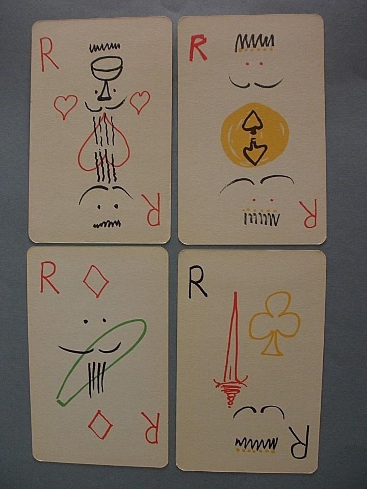 Barajas de cartas: JUEGO DE CARTAS MAX AUB MEXICO 1964 BARAJA NAIPES DIBUJOS JUSEP TORRES CAMPALANS - Foto 2 - 160763601