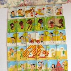 Barajas de cartas: LAS RAZAS, AÑO 1960 ED. RECREATIVAS, S. A. (E. R. S. A.) BARAJA, CATETOS, CARTAS. Lote 110677887