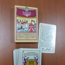 Barajas de cartas: BARAJA EL SITIO DE LOGROÑO - CAR08. Lote 110683608