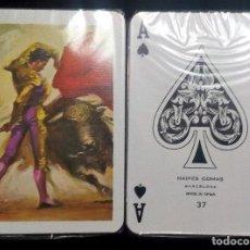 Barajas de cartas: BARAJA POKER 55 CARTAS DE NAIPES COMAS-PASODOBLE TAURINO- ESTRENAR. Lote 190121121