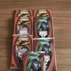 Barajas de cartas: CARTAS DE MARVEL SOBRES SIN ABRIR. Lote 110706411