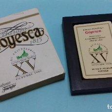 Barajas de cartas: BARAJA ESPAÑOLA GOYESCA. ORIGINALES D. CLEMENTE ROXAS 1815. XV ANIVERSARIO CASINO GRAN MADRID 1996. . Lote 110753063