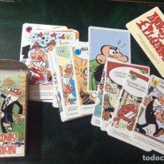 Barajas de cartas: BARAJA MORTADELO Y FILEMON. NUEVA, SIN USO. VELL I BELL.. Lote 111197255
