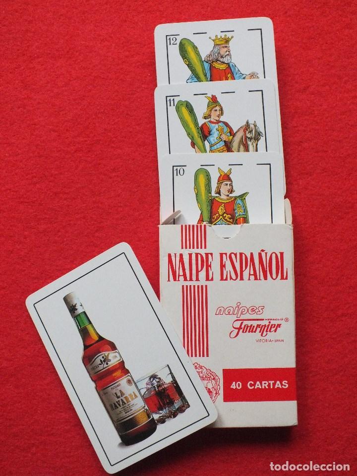 BARAJA DE CARTAS ESPAÑOLA FOURNIER PACHARÁN LA NAVARRA ANTIGUA NAIPES SIN USO (Juguetes y Juegos - Cartas y Naipes - Baraja Española)