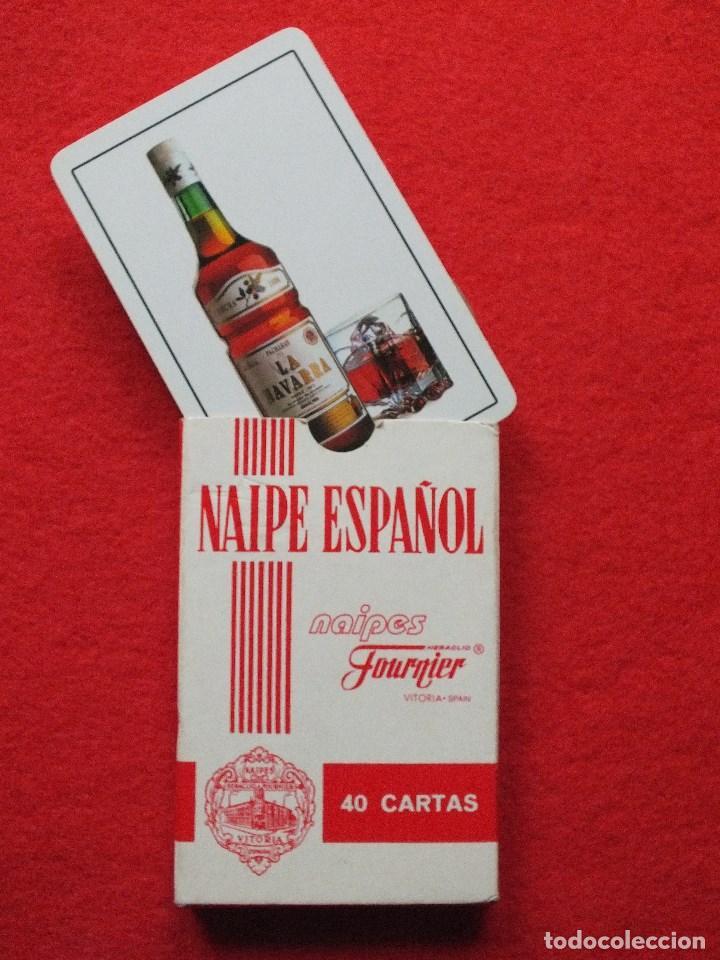 Barajas de cartas: BARAJA DE CARTAS ESPAÑOLA FOURNIER PACHARÁN LA NAVARRA ANTIGUA NAIPES SIN USO - Foto 3 - 111371831
