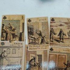 Barajas de cartas: BARAJA REVOLUCIÓN BRITÁNICA ISLAS 1689. Lote 111572083