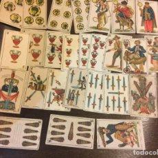 Muy antigua baraja de cartas. 26 naipes de artistas.. Chocolates Jaime Boix, Barcelona
