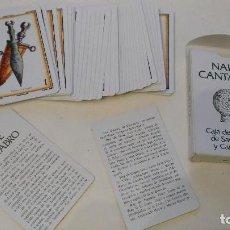 Barajas de cartas: NAIPE CANTABRO DE LA CAJA DE AHORRROS DE SANTANDER Y CANTABRIA 1981. Lote 111644287