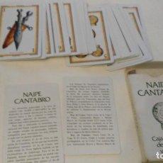 Barajas de cartas: NAIPE CANTABRO DE LA CAJA DE AHORRROS DE SANTANDER Y CANTABRIA 1981. Lote 111644407