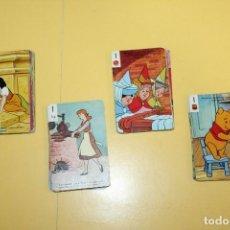 Barajas de cartas: JUEGO DE 44 CARTAS INFANTIL FESTIVAL- FOURNIER - BLANCANIEVES,CENICIENTA,LA BELLA DURMIENTE,WINNIE. Lote 111707459