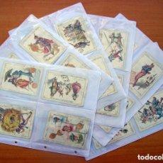 Barajas de cartas: BARAJA CHOCOLATES EL BARCO - LA GRANDE, TAMAÑO 11,5X8 - COMPLETA, 48 CARTAS - VER FOTOS INTERIORES. Lote 111760703