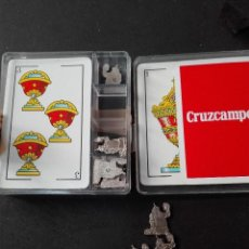 Barajas de cartas: 40 NAIPES BARAJA ESPAÑOLA CRUZCAMPO. Lote 111760947