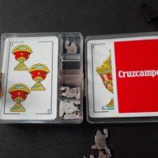 Barajas de cartas - 40 naipes baraja española Cruzcampo - 111760947