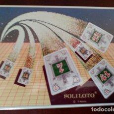 Barajas de cartas: JUEGO DE MESA SOLILOTO A ESTRENAR. Lote 111768039