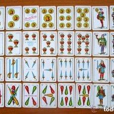 Barajas de cartas: BARAJA LILIPUT - COMPLETA 40 CARTAS. Lote 111775131