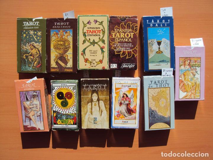 LOTE TAROT (Juguetes y Juegos - Cartas y Naipes - Barajas Tarot)