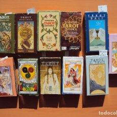 Barajas de cartas: LOTE TAROT. Lote 111794427