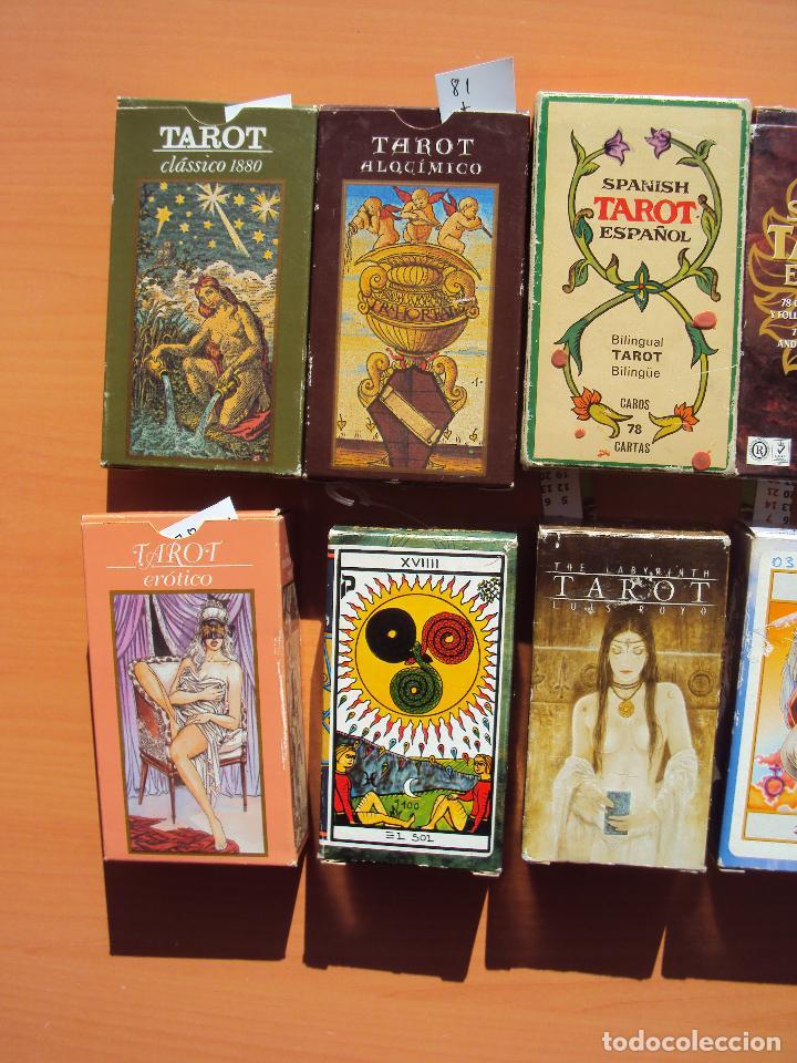 Barajas de cartas: LOTE TAROT - Foto 2 - 111794427